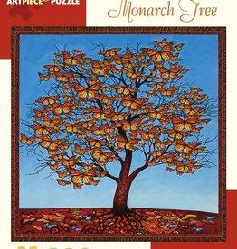 Pomegranate 300 pc Paul Heussenstamm: Monarch Tree Puzzle