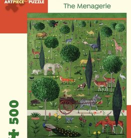 Pomegranate 500 pc Rebecca Campbell: The Menagerie Puzzle