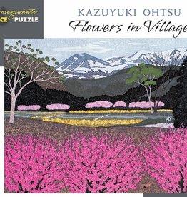 Pomegranate 500 pc Kazuyuki Ohtsu: Flowers in Village Puzzle