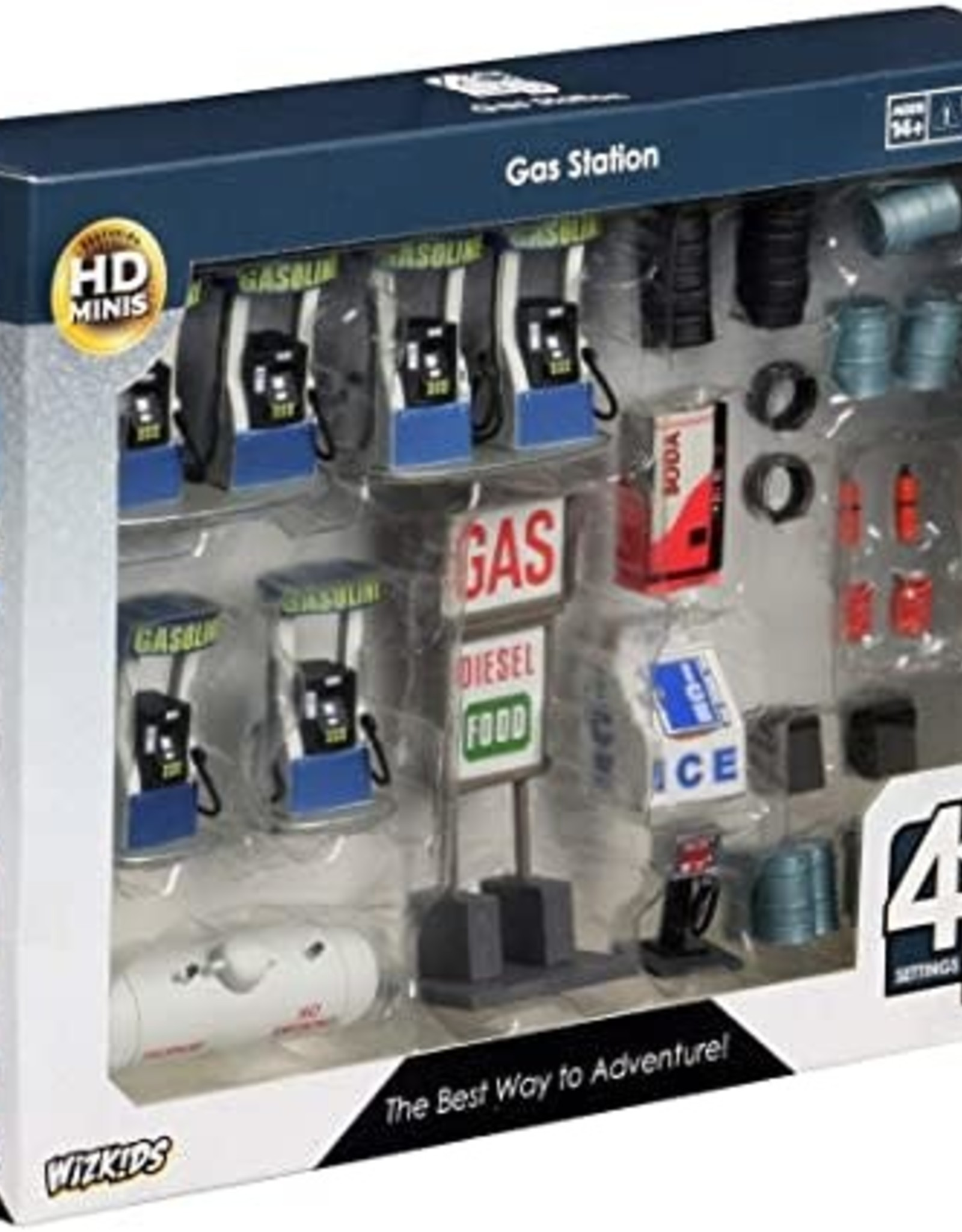 Wizkids WizKids 4D Settings: Gas Station Premium Set