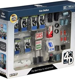 Wizkids WizKids 4D Settings: Gas Station Premium Set