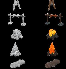Wizkids PF Mini: DC Primed: Camp Fire & Sitting Log