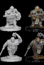 Wizkids D&D Mini: NM Primed: Female Dwarf Fighter