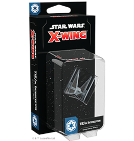 Fantasy Flight Star Wars X-Wing 2.0 Miniatures Game: TIE/in Interceptor Expansion Pack
