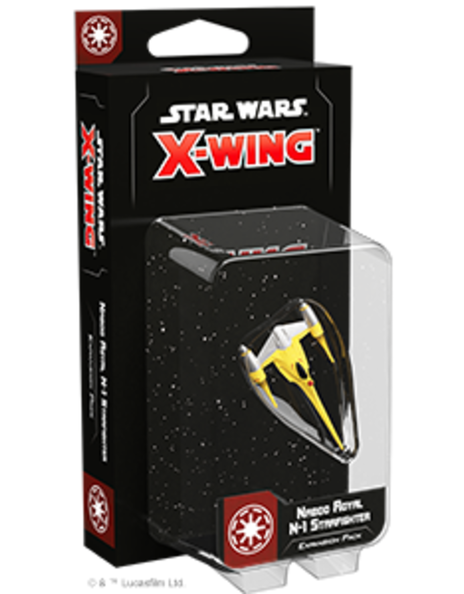 FFG Star Wars X-Wing 2.0: Naboo Royal N-1 Starfighter Expansion Pack