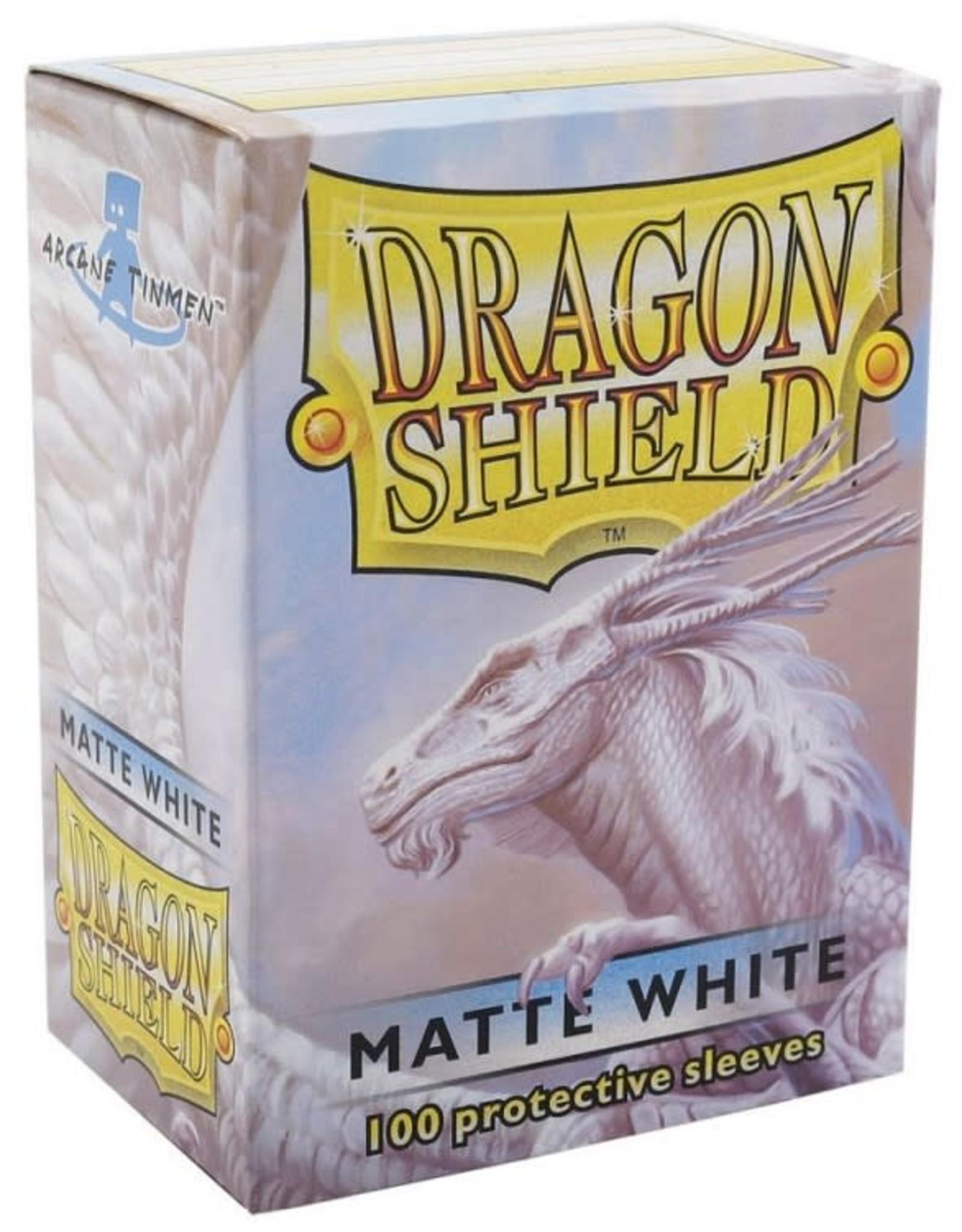 Dragon Shields (100) Matte - White