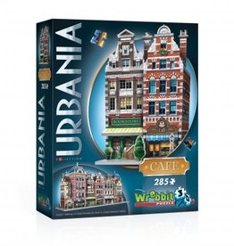 Wrebbit Puzzles URBANIA COLLECTION - CAFÉ