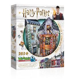 Wrebbit Puzzles Harry Potter - WEASLEYS' WIZARD WHEEZES & DAILY PROPHET