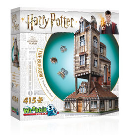 Wrebbit Puzzles Harry Potter - THE BURROW - WEASLEY FAMILY HOME