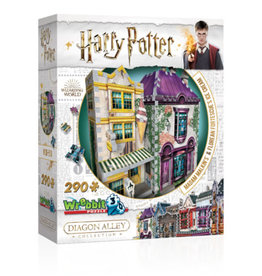 Wrebbit Puzzles Harry Potter - MADAM MALKIN'S & FLOREAN FORTESCUE'S ICE CREAM
