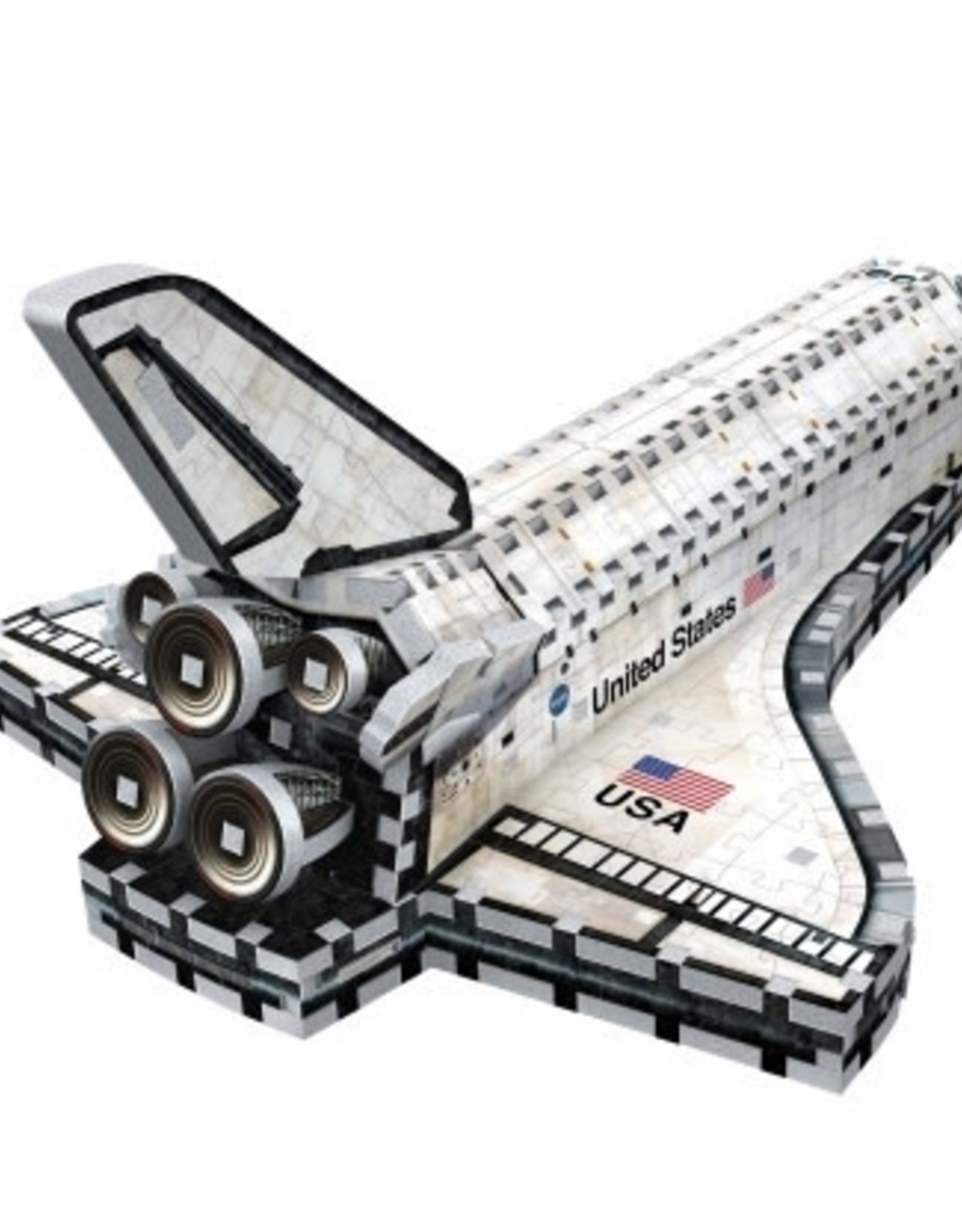 Wrebbit Puzzles SPACE SHUTTLE ORBITER