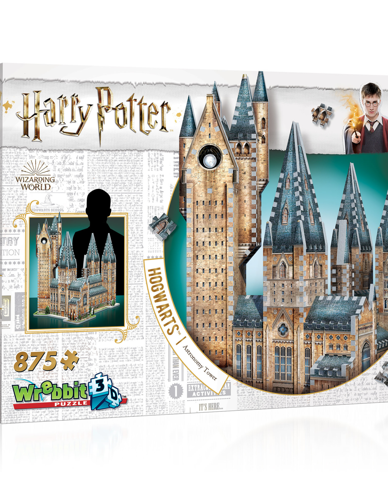 Wrebbit Puzzles Harry Potter - HOGWARTS- ASTRONOMY TOWER
