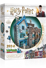 Wrebbit Puzzles Harry Potter - OLLIVANDER'S WAND SHOP & SCRIBBULUS