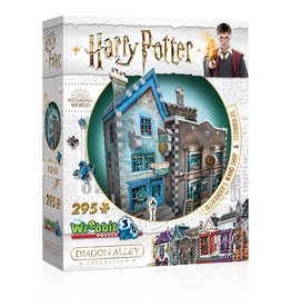 Wrebbit Puzzles Harry Potter - OLLIVANDER'S WAND SHOP & SCRIBBULUS