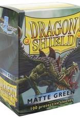 Dragon Shields (100) Matte - Green
