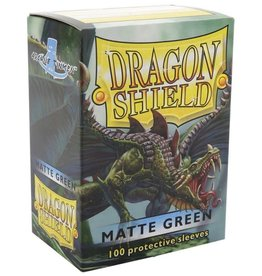 Dragon Shields (100) Matte - Green