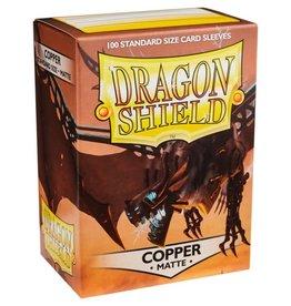 Dragon Shields (100) Matte - Copper