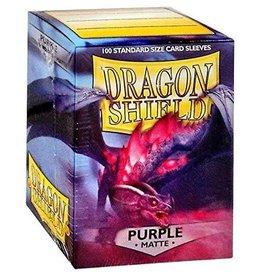 Dragon Shields (100) Matte - Purple