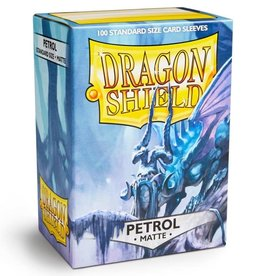 Dragon Shields (100) Matte - Petrol