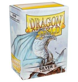 Dragon Shields (100) Matte - Silver