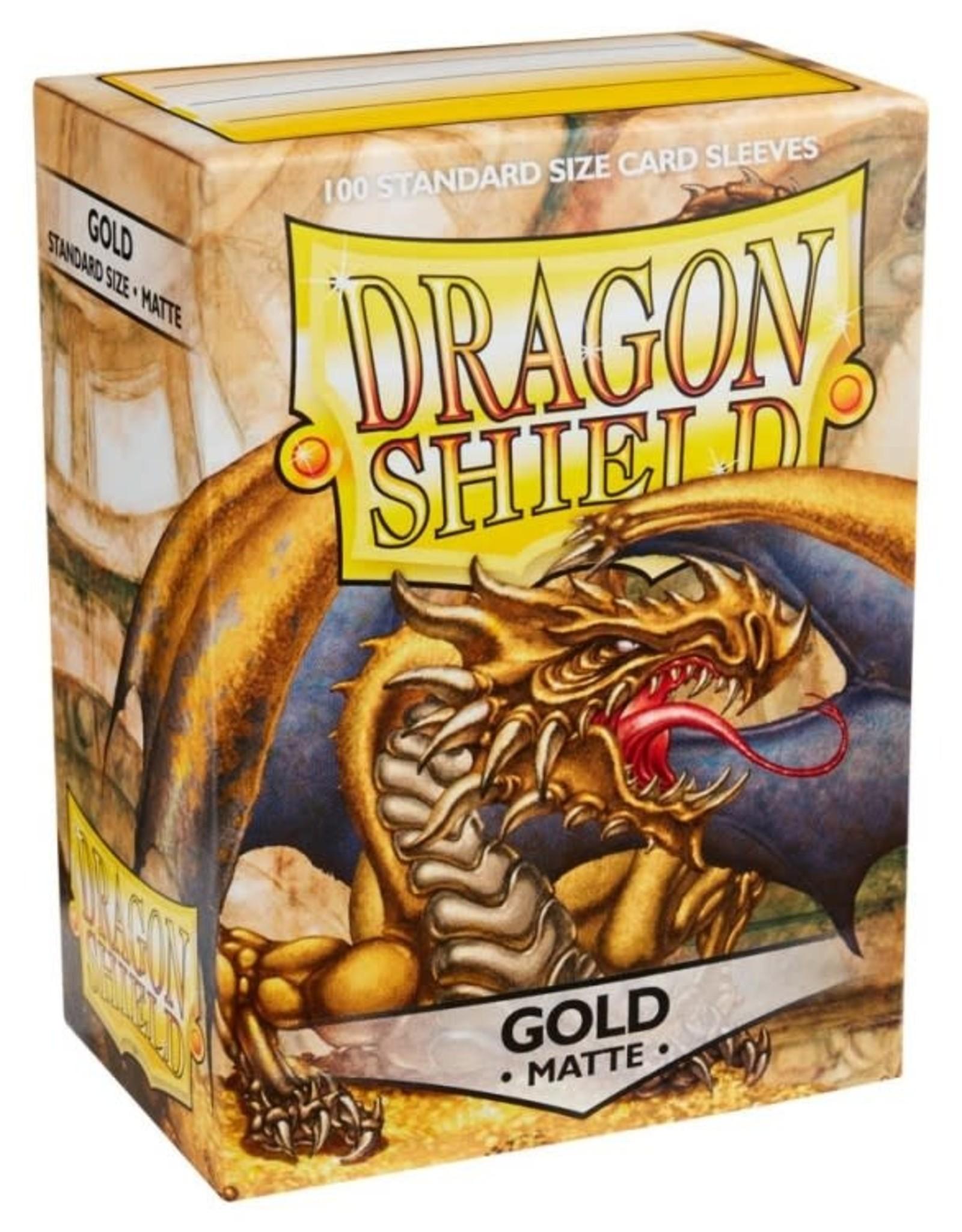 Dragon Shields (100) Matte - Gold