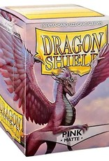 Dragon Shields (100) Matte - Pink