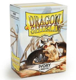 Dragon Shields (100) Matte - Ivory