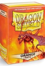 Dragon Shields (100) Matte - Orange