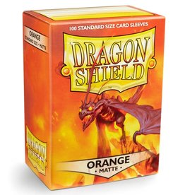 Dragon Shields (100) Matte - Orange