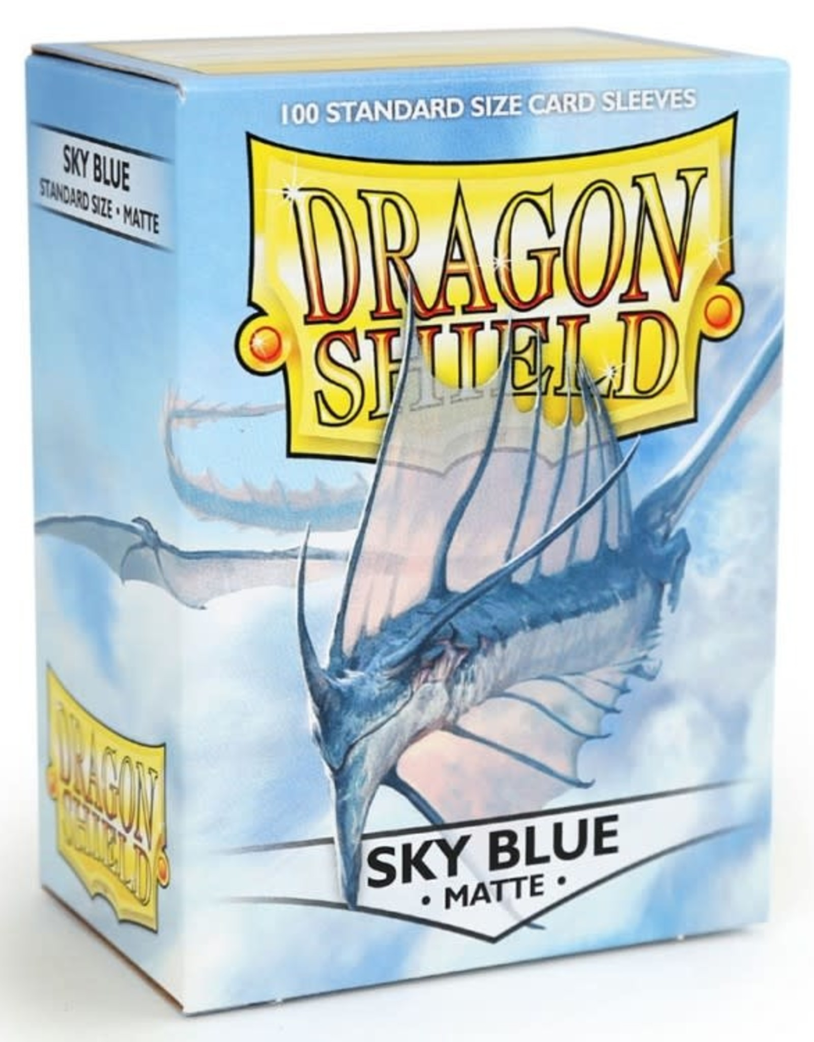 Dragon Shields (100) Matte - Sky Blue