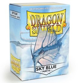 Dragon Shields (100) Matte - Sky Blue