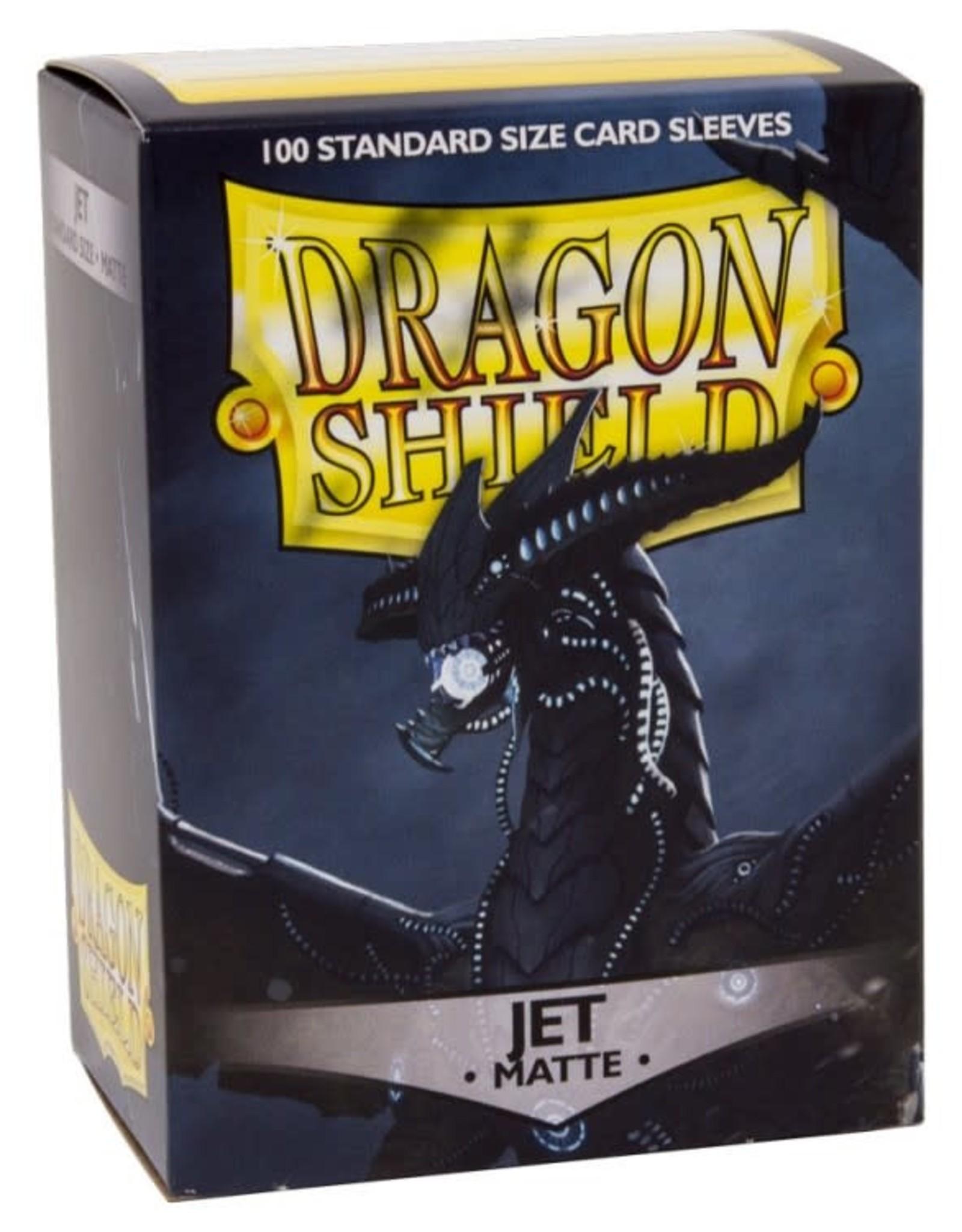 Dragon Shields (100) Matte Jet