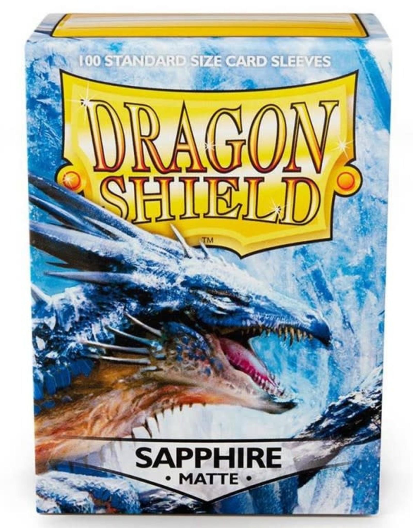 Dragon Shields (100) Matte - Sapphire