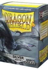 Dragon Shields (100) Matte - Silver (Non-Glare)