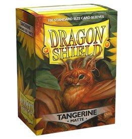 Dragon Shields (100) Matte - Tangerine