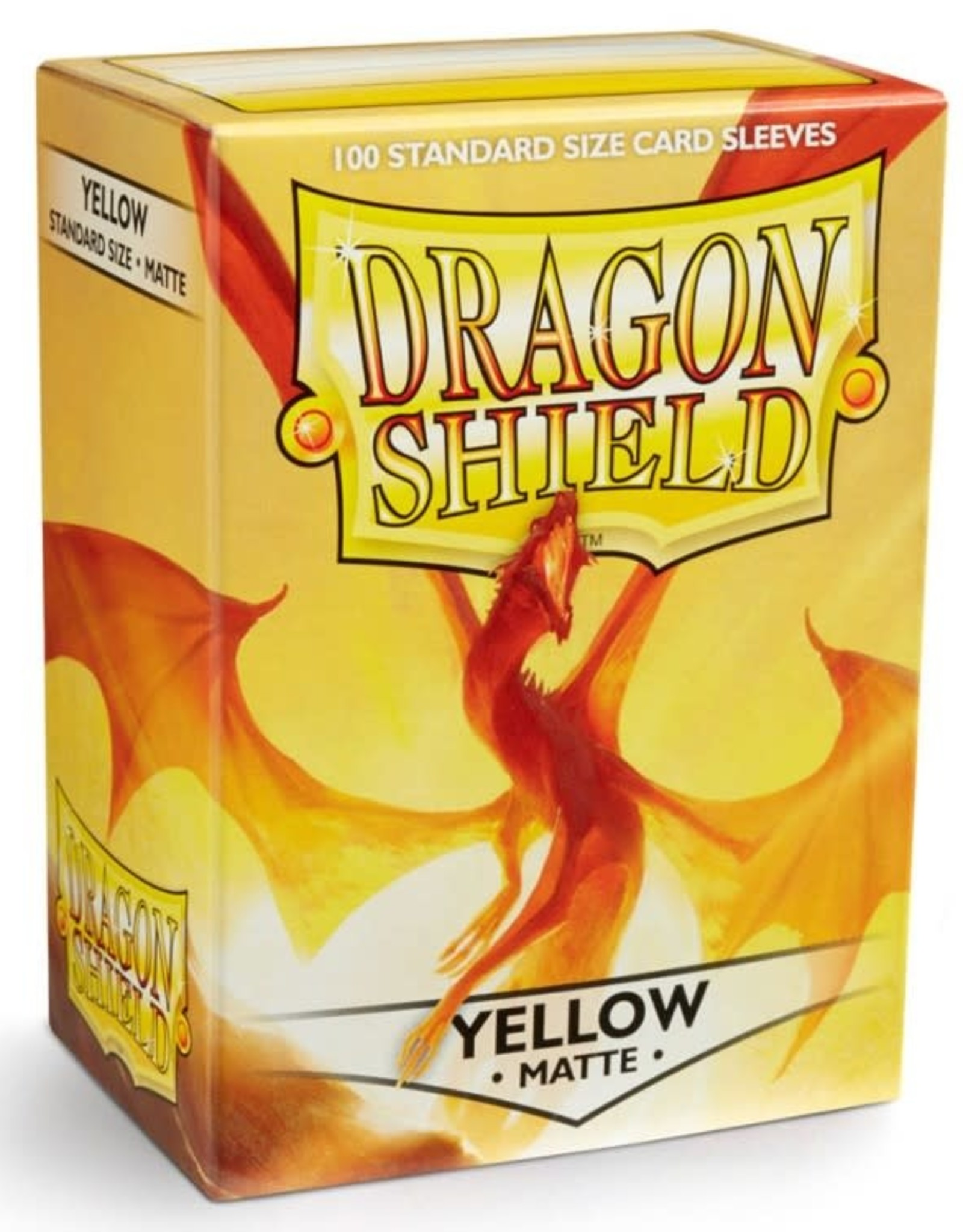 Dragon Shields (100) Matte - Yellow