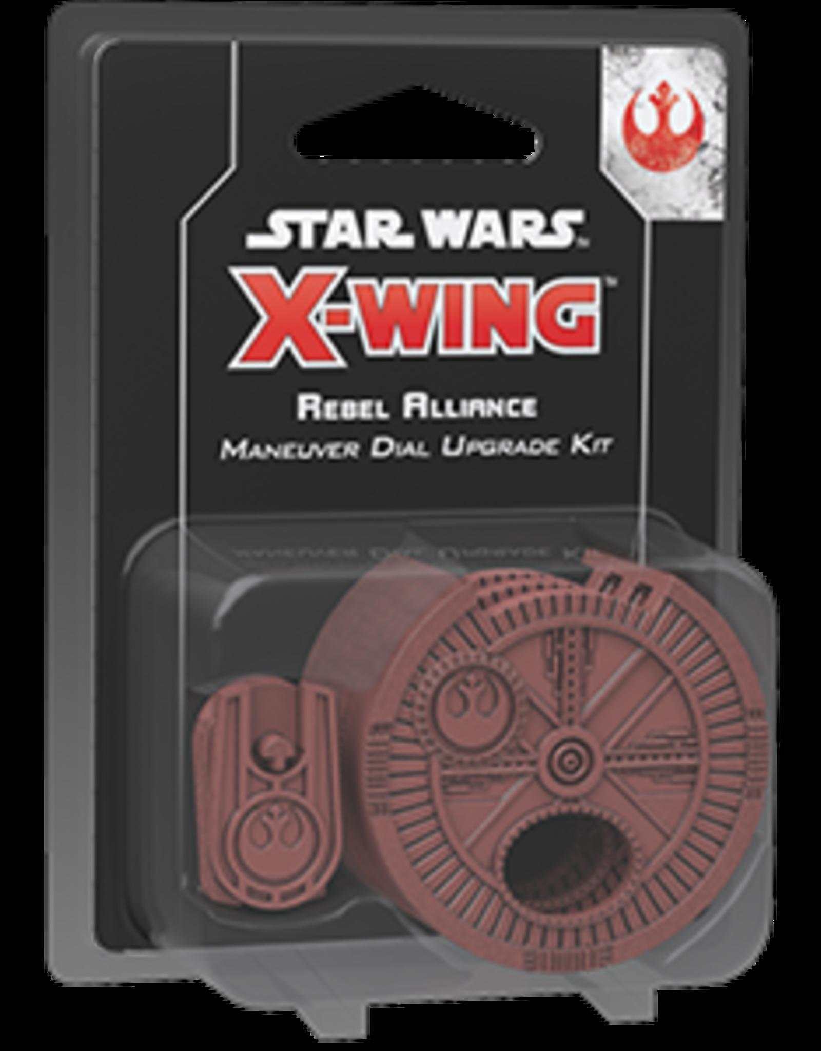 Fantasy Flight Star Wars X-Wing 2.0 Miniatures Game: Rebel Alliance Maneuver Dial Upgrade Kit