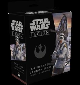 FFG Star Wars Legion:  1.4 FD Laser Cannon Team