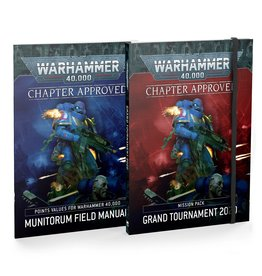Games Workshop Warhammer 40k: Chapter Approved Grand Tournament 2020 Munitorium Field Manual