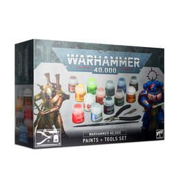 Games Workshop Warhammer 40K Paints + Tools Set