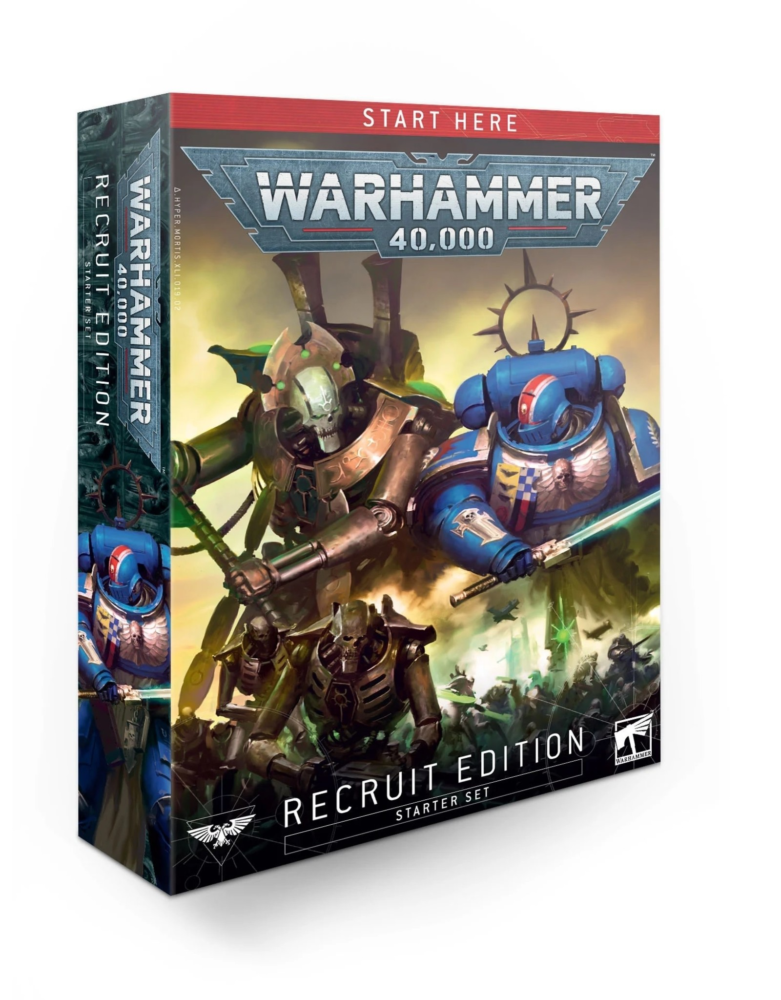 Games Workshop Warhammer 40K Recruit Edition