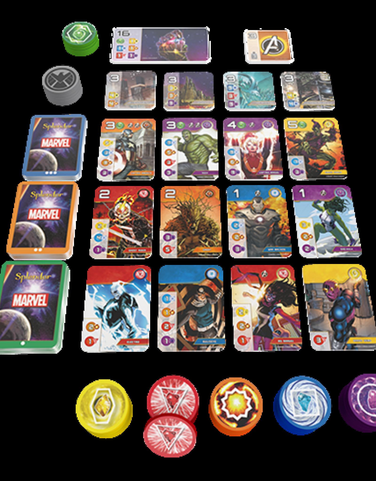 AsmodeeNA Splendor - Marvel Edition