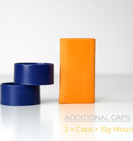 Redgrass Games RGG: 2 x Caps + Putty for Miniature Painting Handle (blue)