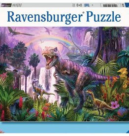 Ravensburger Puzzle 200 pc XXL: King of the Dinosaurs/Dinosaur Land 200p