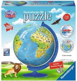 Ravensburger Puzzle: Children's World Globe (180 pc)