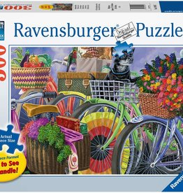 Ravensburger Puzzle 300 pc LF: Bicycle Group large Format