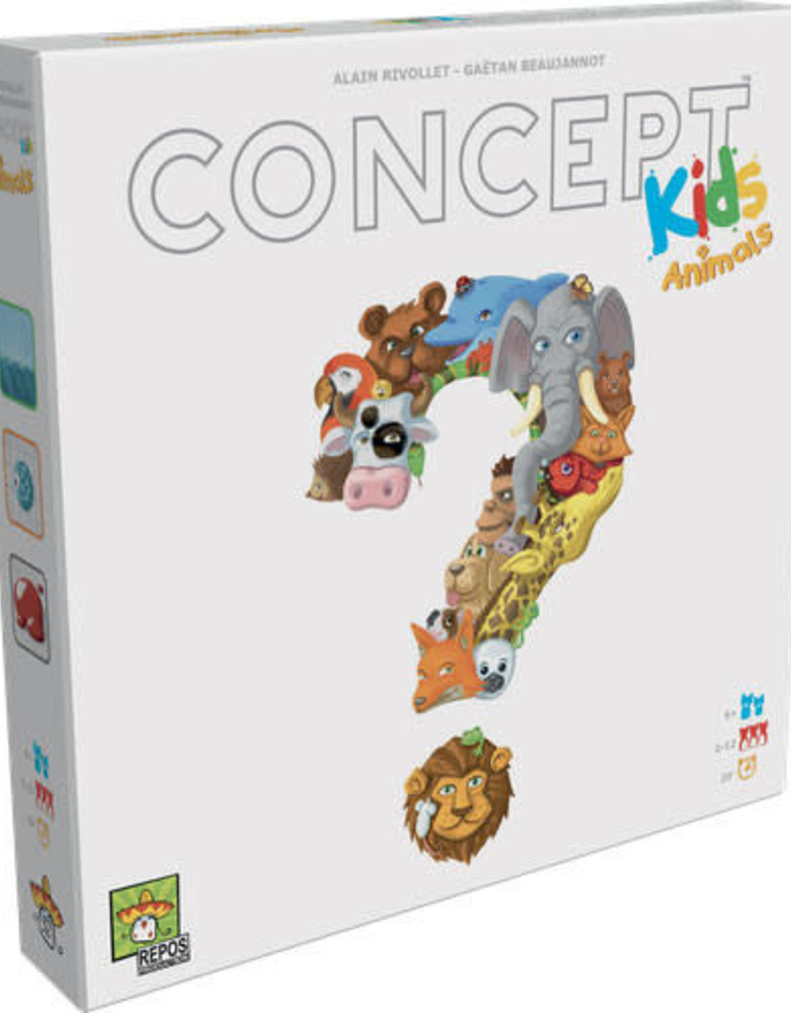 AsmodeeNA Concept For Kids (Animals)