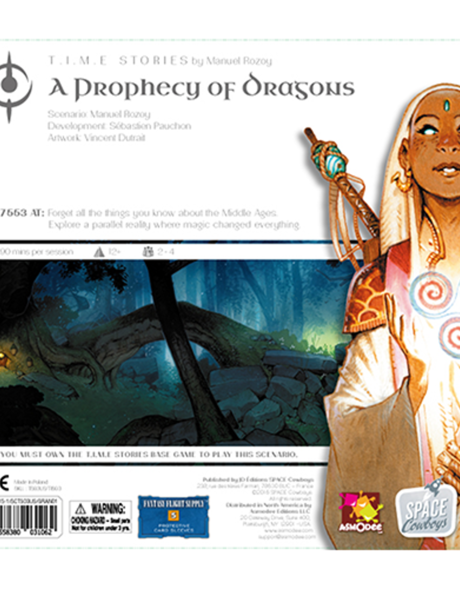 Space Cowboys T.I.M.E. Stories (Time Stories): A Prophecy of Dragons Expansion