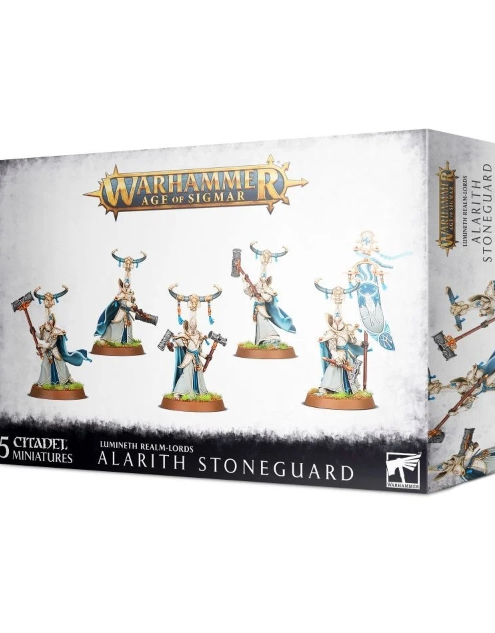 Games Workshop Age of Sigmar: Alarith Stoneguard
