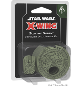 Fantasy Flight Star Wars X-Wing 2.0 Miniatures Game: Scum and Villainy Maneuver Dial Upgrade Kit
